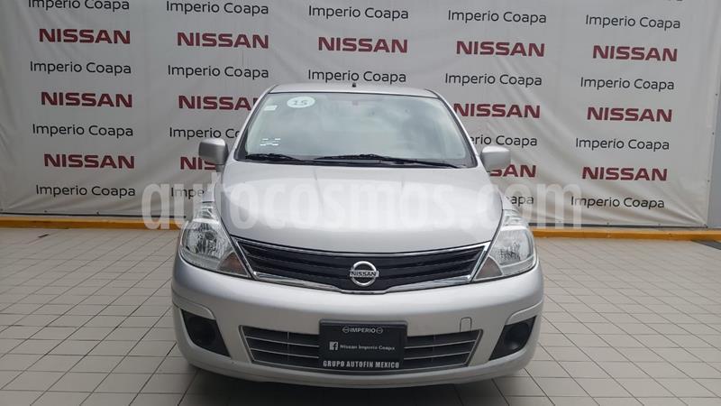 Foto Nissan Tiida Sedan Sense usado (2015) color Plata precio $139,900