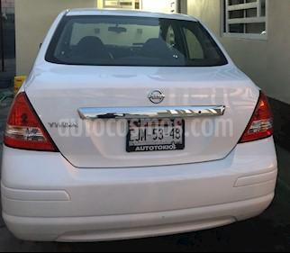 Nissan Tiida Sedan Sense usado (2016) color Blanco precio $120,000