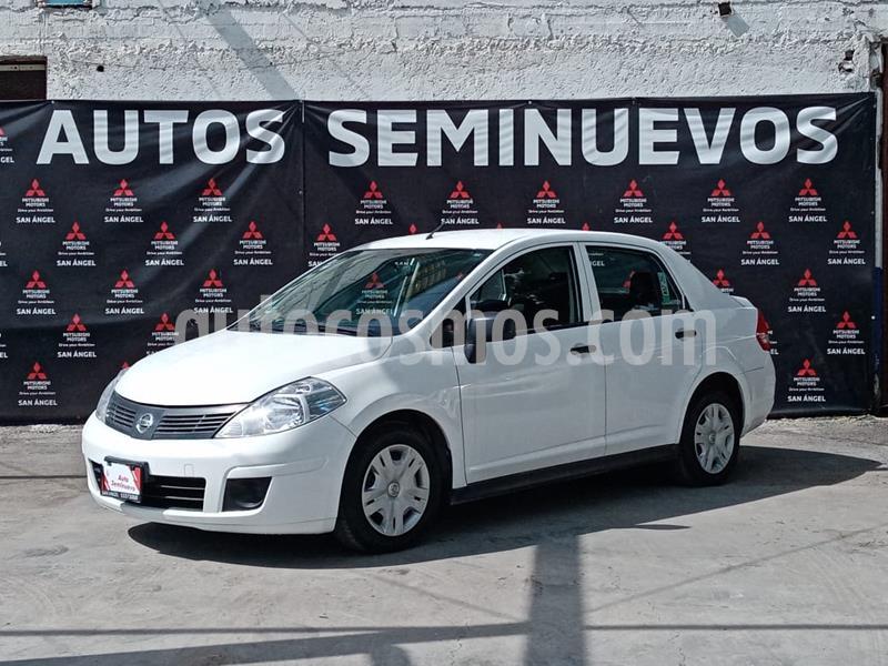 Nissan Tiida Sedan Drive usado (2015) color Blanco precio $102,000