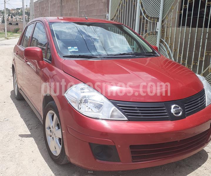 Nissan Tiida Sedan Advance usado (2015) color Rojo precio $108,000