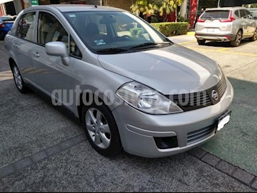 Nissan Tiida Sedan 4P ADVANCE TM6 A/AC. CD BA RA-16 usado (2013) color Plata precio $114,000