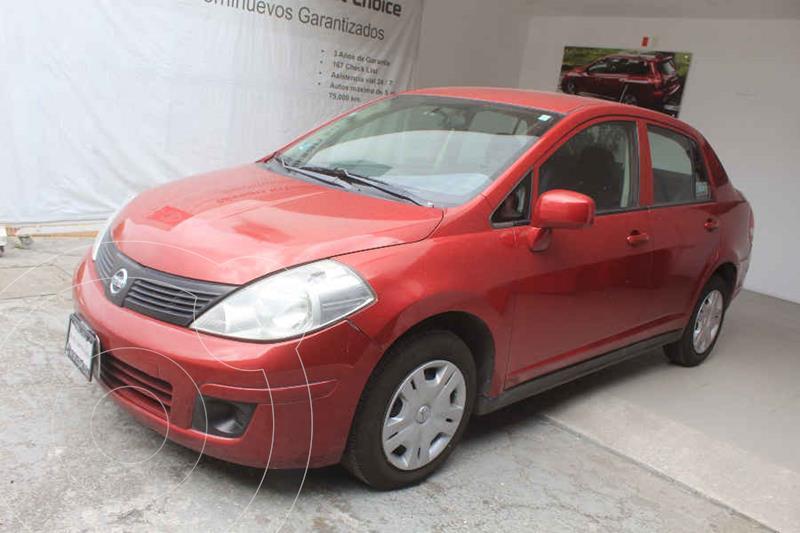 Foto Nissan Tiida Sedan Comfort usado (2012) color Rojo precio $99,000