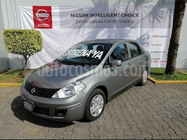 Nissan Tiida Sedan Sense Aut usado (2017) color Gris precio $150,000