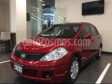 Nissan Tiida Sedan 4p Sedan Sense L4/1.8 Man usado (2015) color Rojo precio $125,000