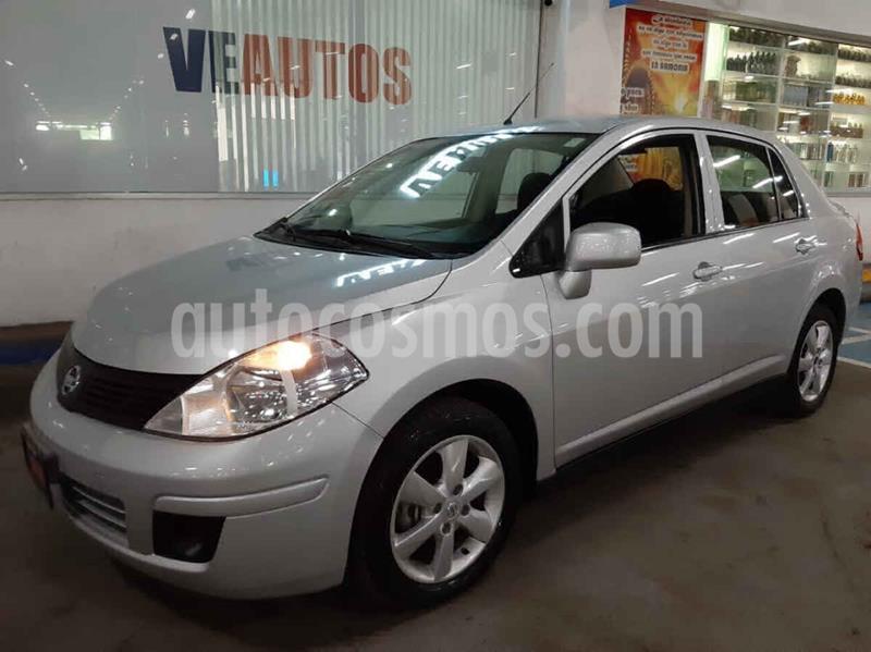 Nissan Tiida Sedan Advance Aut  usado (2018) color Plata precio $158,000