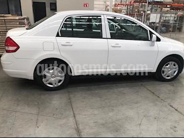 Nissan Tiida Sedan Sense usado (2013) color Blanco precio $80,000