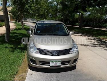 Nissan Tiida Sedan Sense Aut usado (2014) color Arena precio $99,000