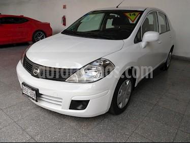 Foto venta Auto usado Nissan Tiida Sedan Sense Aut (2014) color Blanco precio $125,000