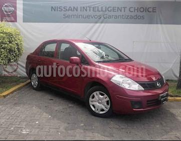 Foto venta Auto usado Nissan Tiida Sedan Sense Aut (2015) color Rojo precio $140,000