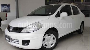 Foto venta Auto usado Nissan Tiida Sedan Sense Aut (2014) color Blanco precio $120,000