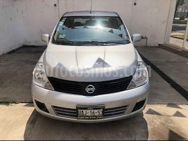Foto venta Auto usado Nissan Tiida Sedan Sense Aut (2016) color Plata precio $148,000