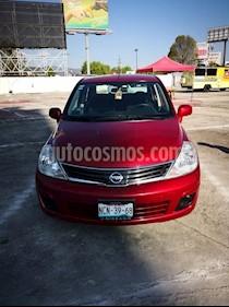 Foto venta Auto usado Nissan Tiida Sedan Sense Aut (2016) color Rojo precio $132,000