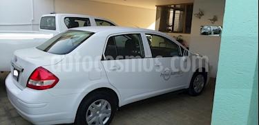 Nissan Tiida Sedan Sense Aut usado (2016) color Blanco precio $145,000