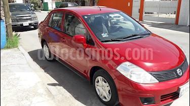 Foto venta Auto usado Nissan Tiida Sedan Sense Aut (2013) color Rojo precio $98,000