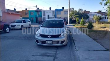 Nissan Tiida Sedan Sense Aut usado (2017) color Plata precio $135,000