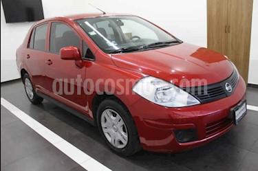 Foto venta Auto usado Nissan Tiida Sedan Sense Aut (2015) color Rojo precio $125,000