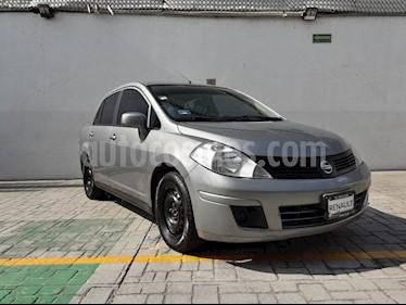 Nissan Tiida Sedan Sense Aut usado (2015) color Plata precio $127,000