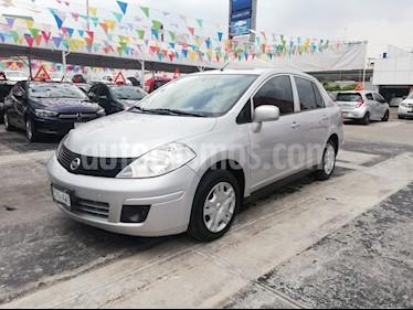 Foto venta Auto usado Nissan Tiida Sedan Sense Aut (2018) color Plata precio $158,000