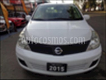 Nissan Tiida Sedan Sense Aut usado (2015) color Blanco precio $139,000