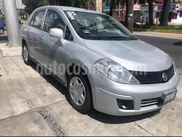 Foto venta Auto usado Nissan Tiida Sedan Sense (2013) color Plata precio $105,000