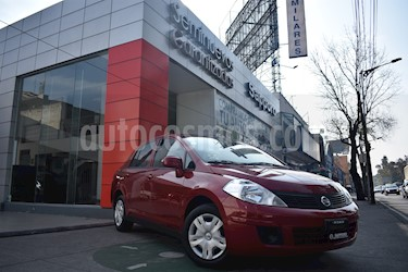 Foto venta Auto Seminuevo Nissan Tiida Sedan Sense (2016) color Rojo Borgona precio $155,000