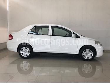 Foto venta Auto usado Nissan Tiida Sedan Sense (2018) color Blanco precio $169,000