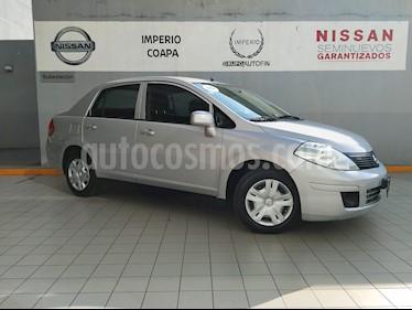 Foto venta Auto Seminuevo Nissan Tiida Sedan Sense (2015) color Plata precio $147,000