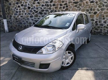 Foto venta Auto Seminuevo Nissan Tiida Sedan Sense (2016) color Plata precio $160,000