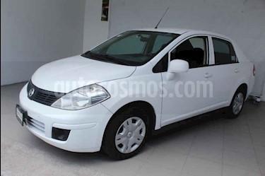 Foto venta Auto usado Nissan Tiida Sedan Sense (2016) color Blanco precio $149,000