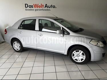 Foto venta Auto usado Nissan Tiida Sedan Sense (2013) color Plata precio $117,900