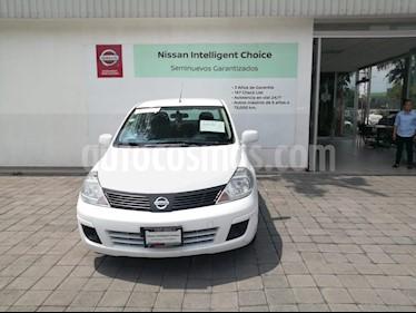 Foto venta Auto usado Nissan Tiida Sedan Sense (2017) color Blanco precio $154,000