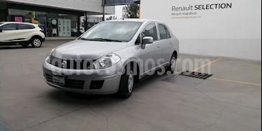 Foto venta Auto usado Nissan Tiida Sedan Sense (2013) color Plata precio $130,000