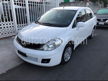 Foto venta Auto usado Nissan Tiida Sedan Sense (2014) color Blanco precio $88,500