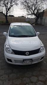 Nissan Tiida Sedan Sense usado (2014) color Blanco precio $98,000