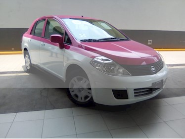 Foto venta Auto usado Nissan Tiida Sedan Sense (2015) color Rojo Burdeos precio $164,000