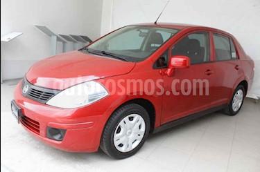Nissan Tiida Sedan Sense usado (2017) color Rojo precio $159,000