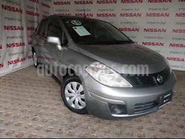 Foto venta Auto usado Nissan Tiida Sedan Sense (2018) color Gris Oxford precio $175,000