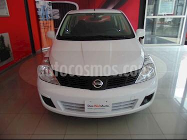 Foto venta Auto usado Nissan Tiida Sedan Sense (2018) color Blanco precio $162,000