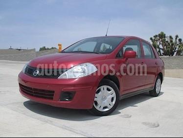 Foto venta Auto usado Nissan Tiida Sedan Sense (2015) color Rojo Burdeos precio $138,000