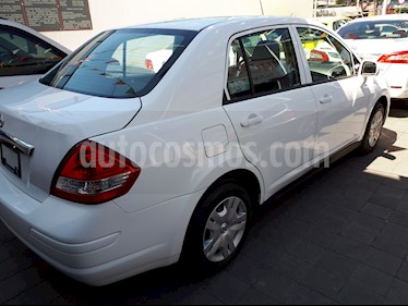 Foto venta Auto usado Nissan Tiida Sedan Sense (2018) color Blanco precio $175,000