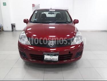 Foto venta Auto usado Nissan Tiida Sedan Sense (2014) color Rojo precio $129,999