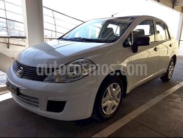Foto venta Auto usado Nissan Tiida Sedan Sense (2015) color Blanco precio $130,000