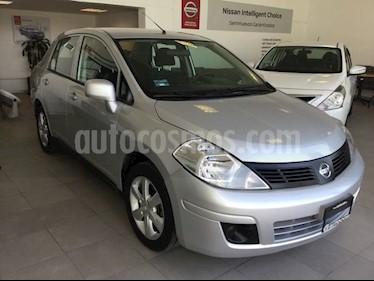 Foto venta Auto usado Nissan Tiida Sedan TIIDA ADVANCE T/M (2014) color Plata precio $145,000