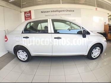 Foto venta Auto usado Nissan Tiida Sedan TIIDA SEDAN DRIVE T/M C/A (2017) color Plata precio $150,000