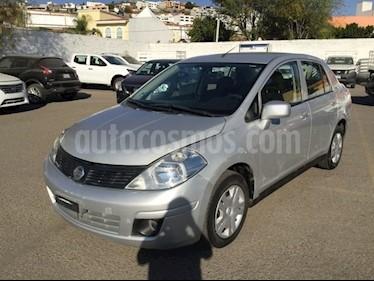 Foto venta Auto usado Nissan Tiida Sedan TIIDA SEDAN SENSE T/A A/A (2015) color Plata precio $130,000