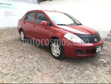 Foto venta Auto Seminuevo Nissan Tiida Sedan TIIDA SEDAN SENSE T/M A/A (2015) color Rojo precio $130,000