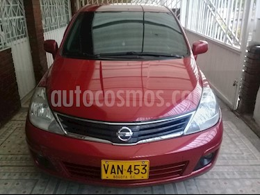 Nissan Tiida 1.8L Emotion  usado (2011) color Rojo precio $21.900.000