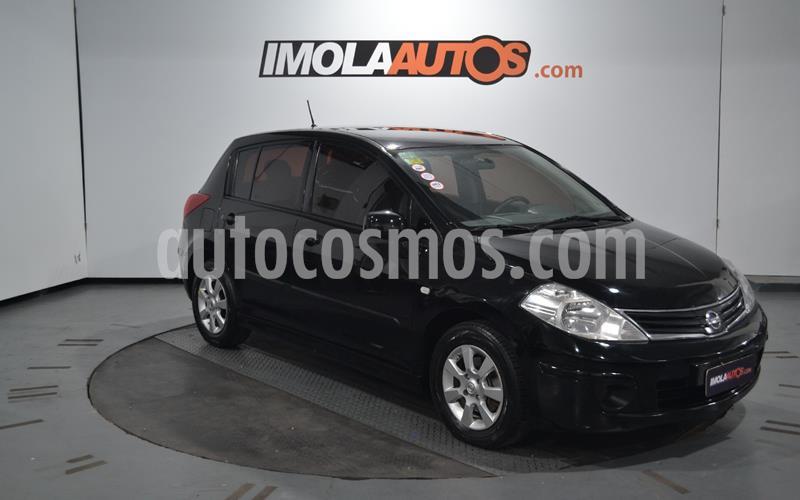 Nissan Tiida Visia usado (2013) color Negro precio $690.000