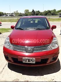 Nissan Tiida Visia usado (2009) color Rojo precio $300.000