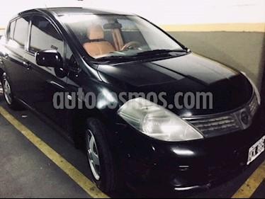 Nissan Tiida Visia usado (2008) color Negro precio $165.000